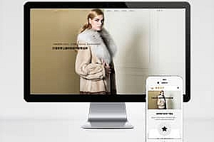 服装设计类网站织梦模板 HTML5响应式公司网站模版下载