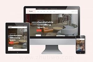 创意装修设计公司网站模版 响应式家居设计网站html模版