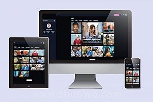 交友社交网站响应式模板 兴趣爱好HTML静态模板下载
