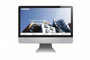 大气磅礴的工程建筑网站模板 html工程装修类网站模版