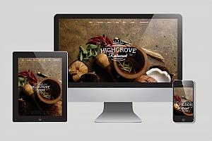 餐饮美食WordPress主题模版下载