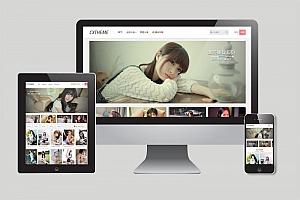CX-UDY响应式多功能中文图片站wordpress主题 美女图片站模版下载