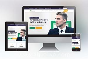 全功能通用型企业网站模板 响应式H5网站模板