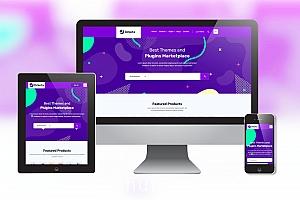 付费资源下载网站模板 软件在线销售网页模板下载