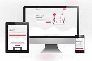 营销网络公司业务网站模板 网站建设公司网站模板