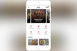 餐饮美食手机网站模板 餐饮APP模板
