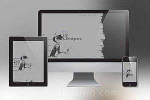 个性且简洁的博客网站模板 个人博客Html模板