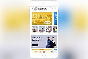 手机app电商网站模板 Html综合电商网站模板