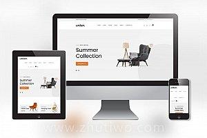 家具家私商城网站模板 响应式家俱厂网站模版