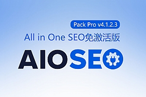 All in One SEO Pack Pro v4.1.2.3 [已激活版]免费下载